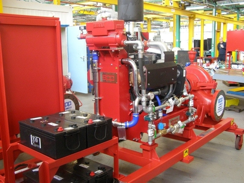 SPP fire fighting pumping stations