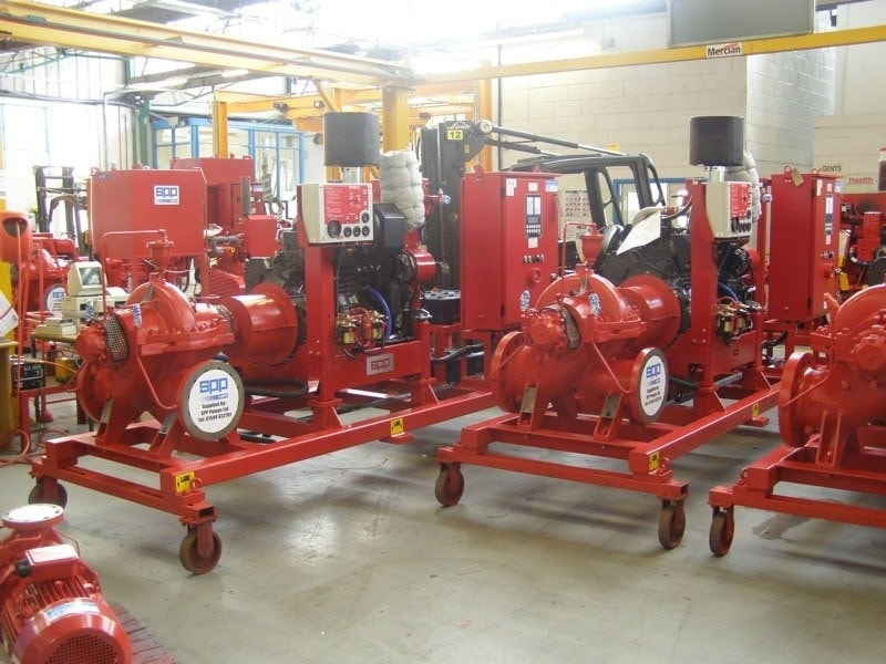 SPP fire pump sets