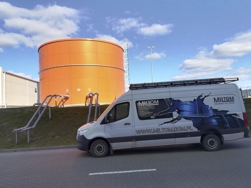 Zbiornik przeciwpożarowy - wyspecjalizowany serwis