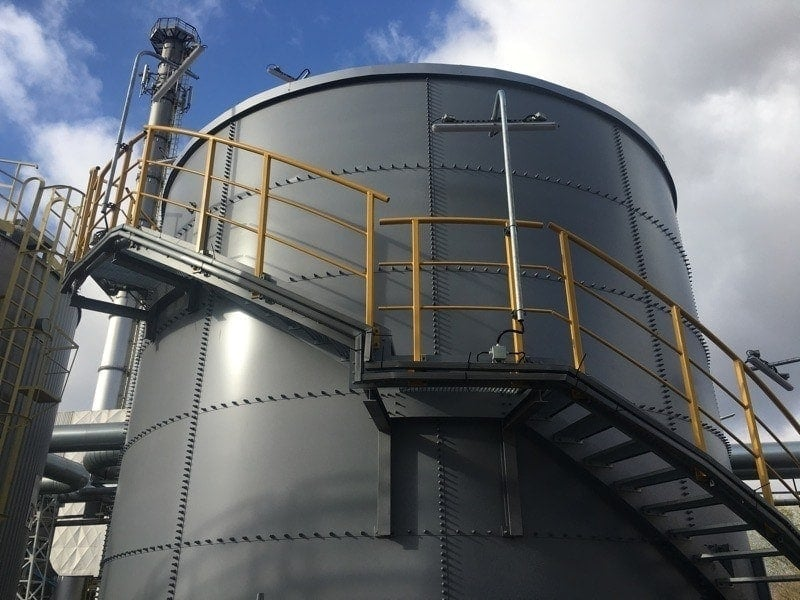 Technological water tank