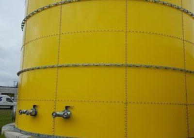 Zbiornik ppoż. Zalando - hydranty